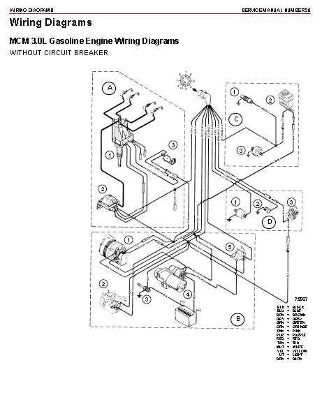 Diagram Mercury Trim Wiring Harness Diagram