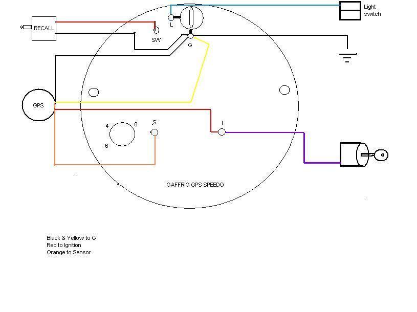 gaffrig gps speedometer wiring diagram free vehicle wiring diagrams u2022 rh kaphene co Gaffrig Gauges GPS Speedo Gaffrig Problem