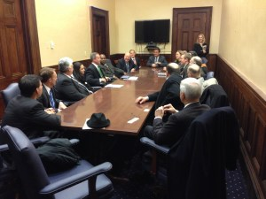 Governor O'Malley meets privately with BizMDOSW members
