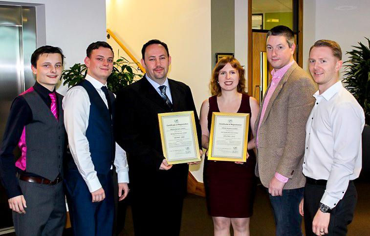 ISO 9001 27001 Certificates