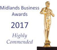 Midlands Business Awards 2017 Highly Commended