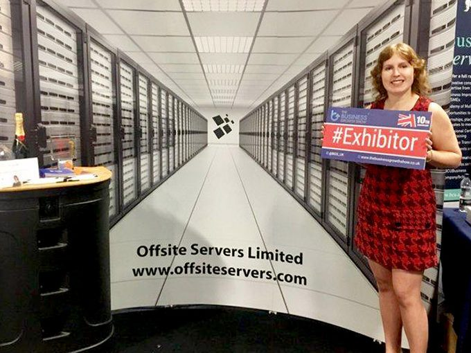Claire is an Exhibitor for Offsite Servers