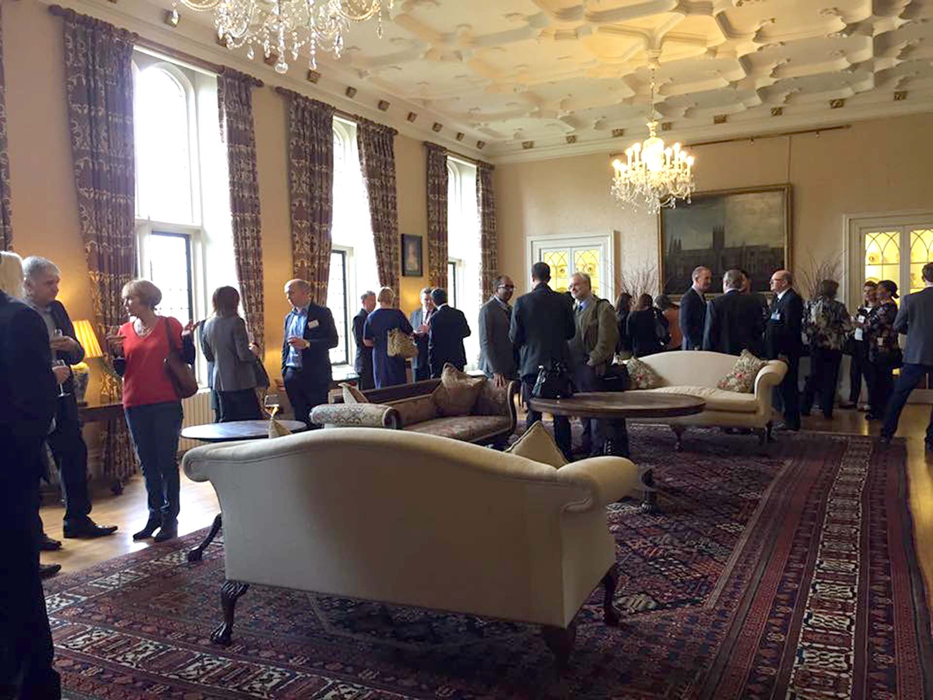 Phil Networking at St James Palace London