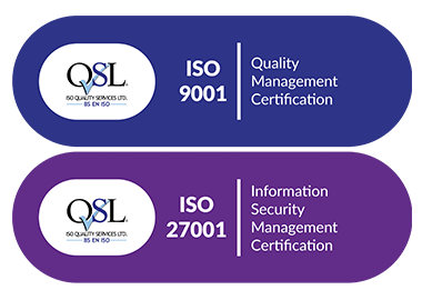 ISO 9001 27001 Certified