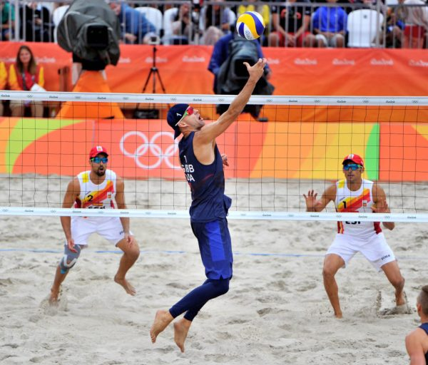 Images: U.S. beach pair Gibbs, Patterson eliminated from ...
