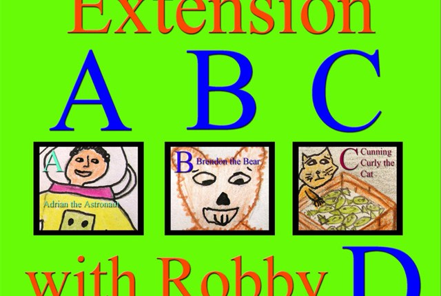 Extension ABC with Robby D cover