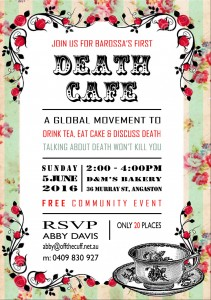Death Cafe Barossa Invitation
