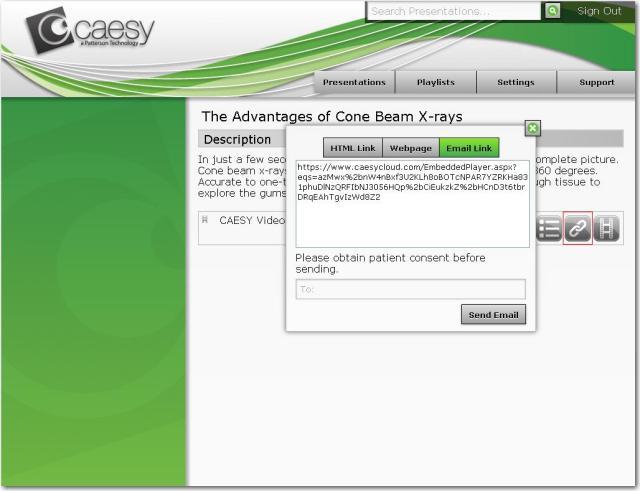 CAESY Cloud - Patient Education