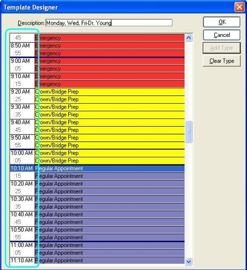 Scheduling for Efficiency in Eaglesoft