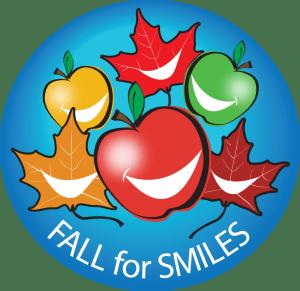 fall for smiles program logo