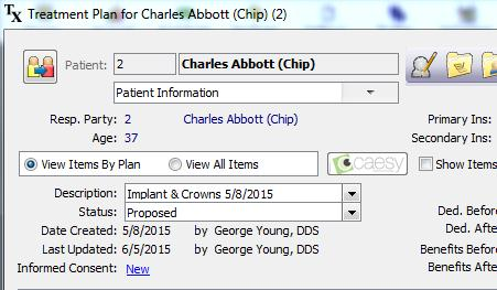 Informed Consent in Eaglesoft