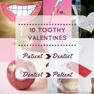 10 toothy valentine crafts