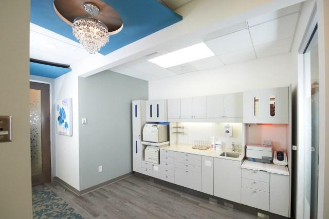 sterilization center at smiles by design in california