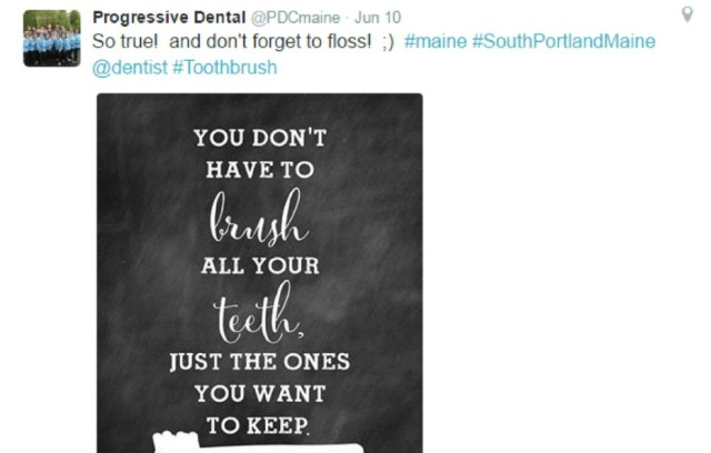 Dental social media tips motivational quotes