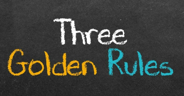 section 179 three golden rules