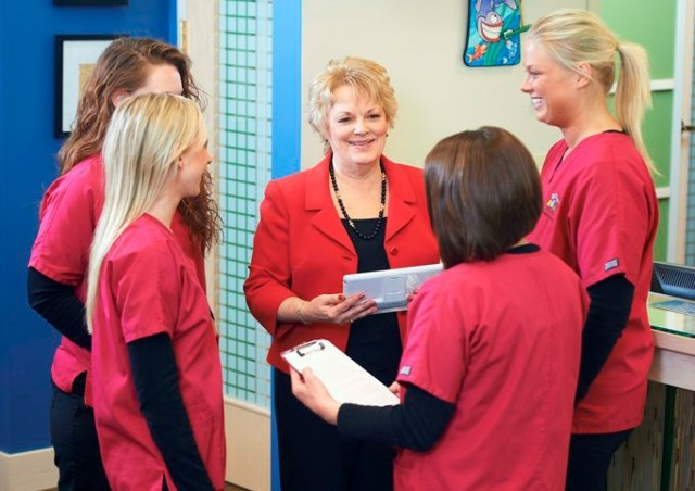 Dental coworkers feel more like a family