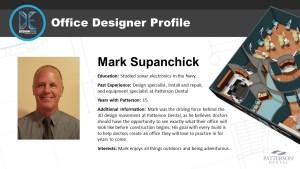 Office Designer Mark Supanchick