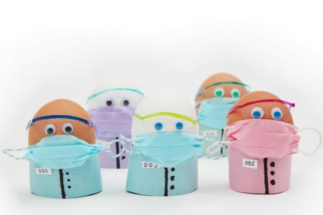 miniature dental easter eggs