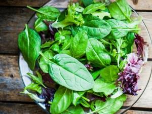 leafy greens good for teeth