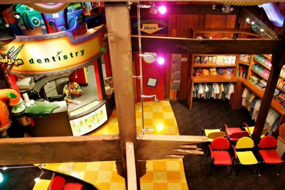 kidzaam welcome desk and gift shop