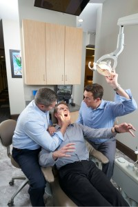Hamilton Brothers Silly Dental Interaction
