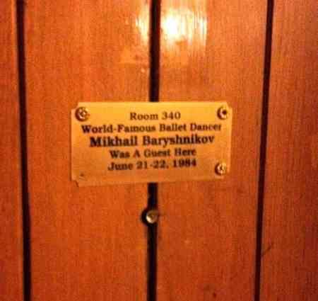 mikhail baryshinakov's room at the grove park inn