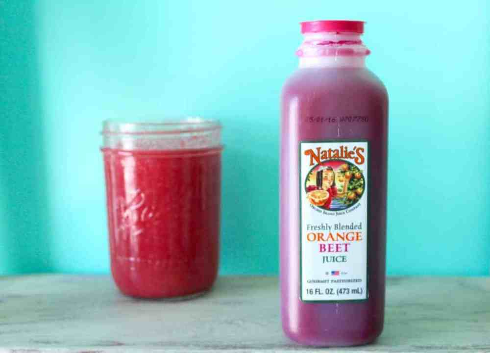 orange beet tropical smoothie