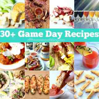 my favorite game day recipes
