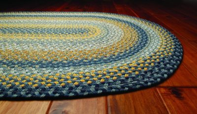 How To Make A Beginner's Braided Rug from Old, Warn-Out Fabric