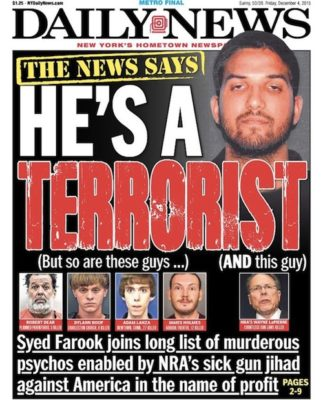 American Gun Owners Are Now 'Jihadists' and 'Terrorists' -- So Says This Influential U.S. Paper