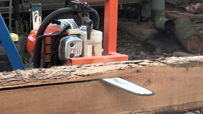 The Poor Man's Off-Grid Sawmill You Can Definitely Make At Home