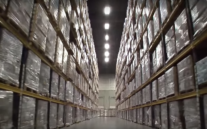 Inside A Secret Government Warehouse Prepping For Societal Collapse