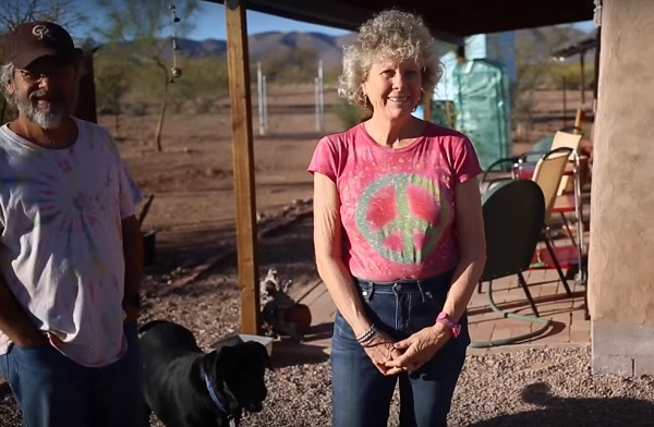 A Life Without Bills: Middle-Aged Couple Builds $30,000 Off-Grid Cob Home