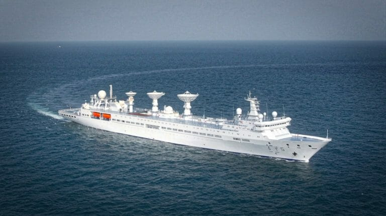 Chinese Spy Ship Spotted Just Off Coast Of Alaska