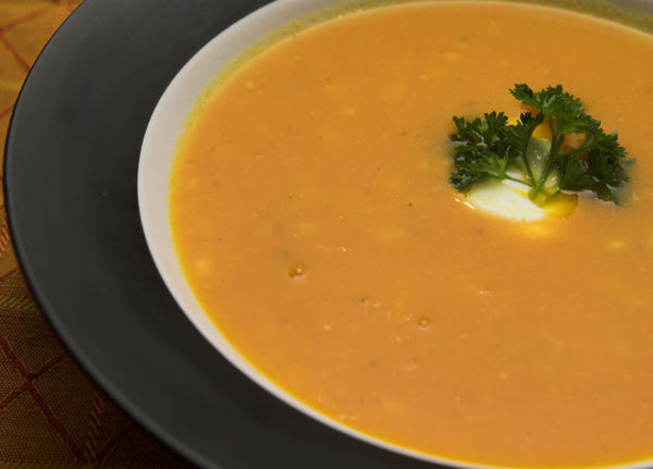 Carrot and Lentil Soup