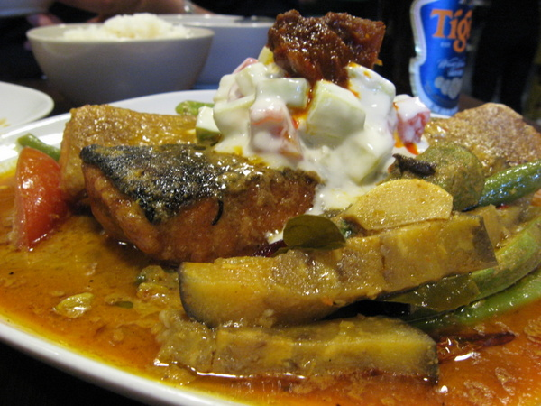 Sonny's fish curry