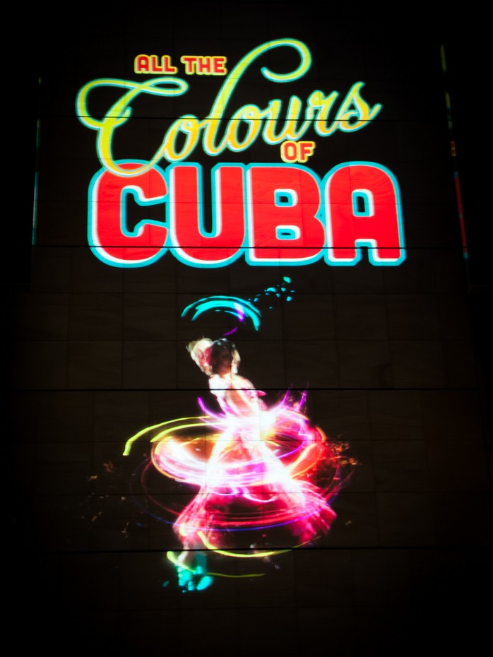 Colours of Cuba projection