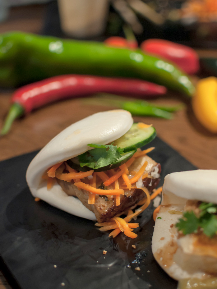 Pork belly bao