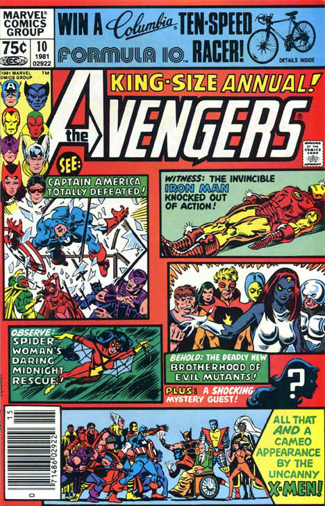 Avengers Annual #10 cover