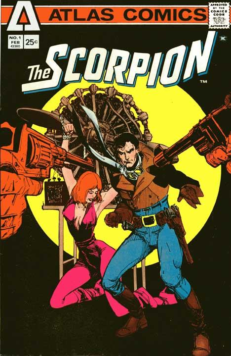 Scorpion #1 cover