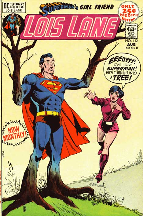 Superman's Girlfriend Lois Lane #112 cover