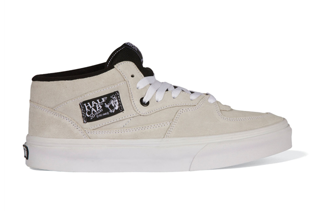 "Vans – Half Cab ""20th Anniversary"" White (March 2012) 2ae516f73"