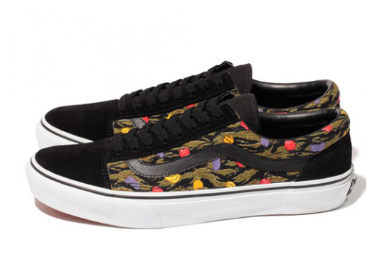 """Vans x XLARGE – Old Skool """"Tropical Camouflage"""" (Japan Only) 42d495c05a"""