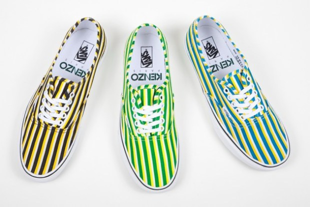 6ae4f5ffd Vans x KENZO – Authentic Capsule Collection (Summer 2012)