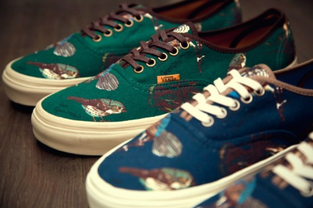 "9e6d0676f2 Vans California – Authentic CA ""Birds"" (Fall Winter 2012)"