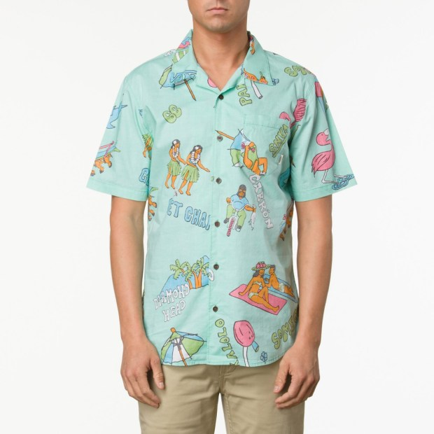 Vans-Apparel_Casual-Friday-Aloha-Shirt_Mint-Green-Aloha-Camo_Spring-2013