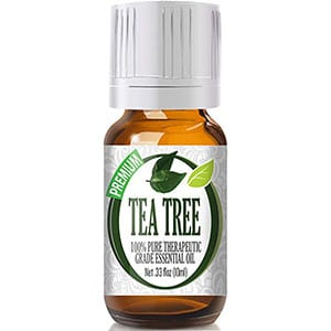 Healing Solutions Tea Tree Oil Essential Oil. Available on Amazon.