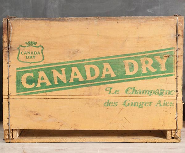 Raise your hand if you love antique home decor. Raised both hands? You've come to the right place! Here's a home tour featuring antique and thrifted finds, plus a list of vintage pieces I found on Etsy - like this Canada Dry crate.
