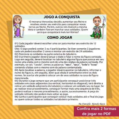 Jogo A Conquista (Arquivo Digital)