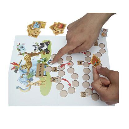 jogo passeio ao zoologico com atividades com sílabas